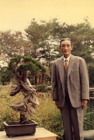 Bonsajový majster a jeho strom